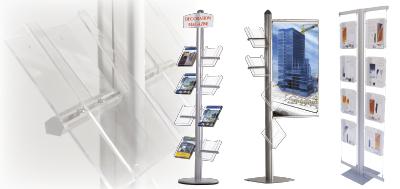 Espositori e display per comunicazione visiva acquista - Porta volantini ...